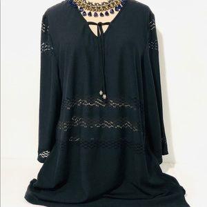 Boho 2 Pc Crochet Look Cover Up Resort Wear Set